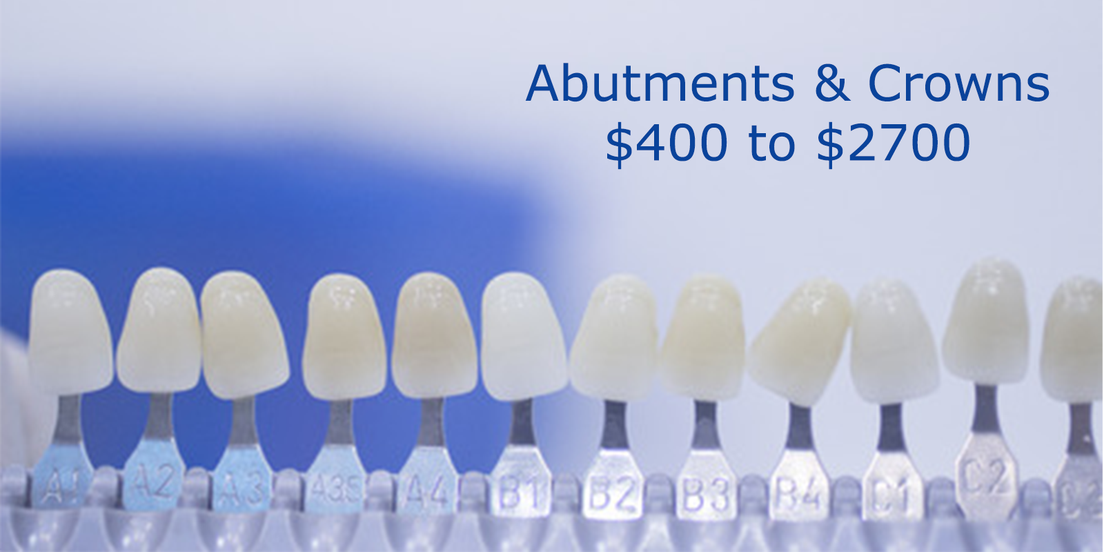 Abutment & Dental Crown Cost